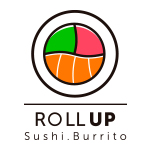 Roll Up Sushi Burrito - Logo