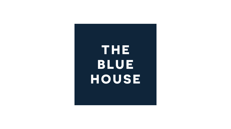 the blue house logo